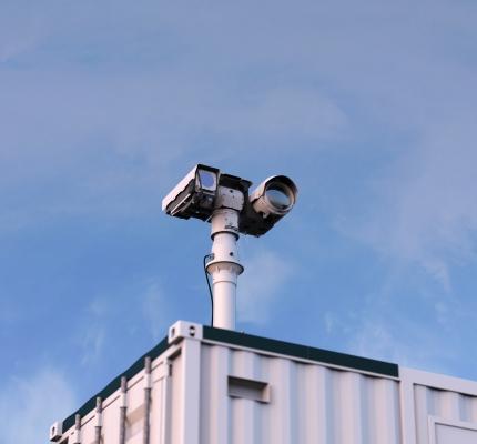 Sigma Leo Surveillance - Conex Container