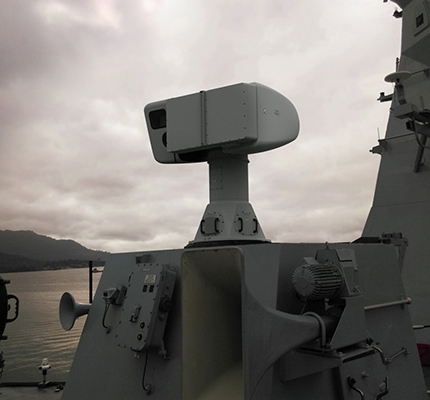 Sea Eagle FCRO (Fire Control Radar Optical)