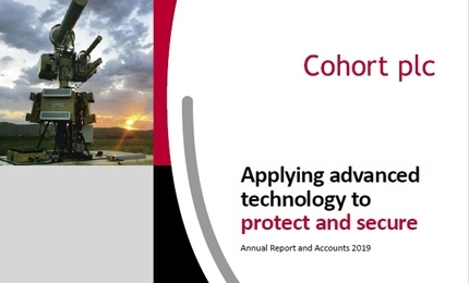 Cohort plc Annual Report and Accounts 2019